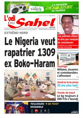 L'oeil du Sahel - 03/09/2021