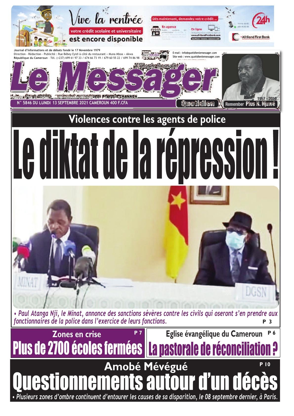 Le Messager - 13/09/2021