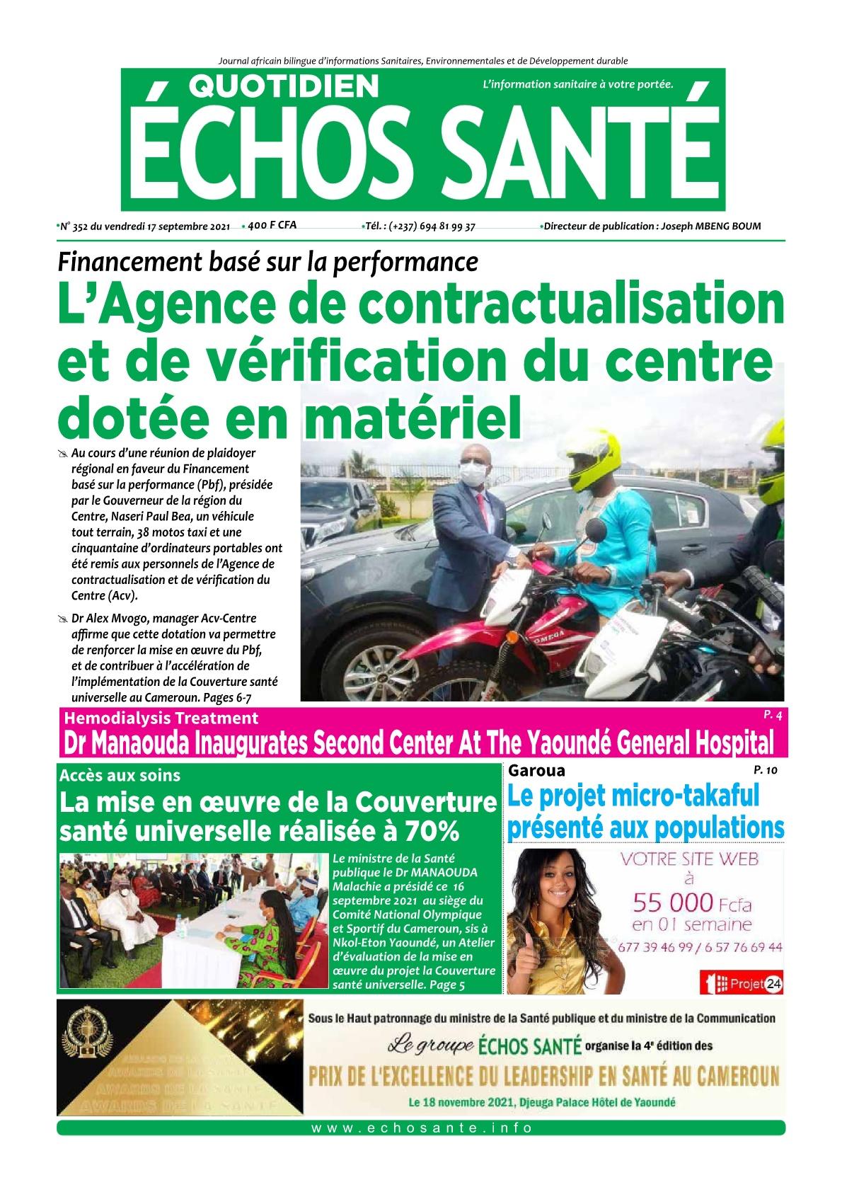 Echos Santé - 17/09/2021