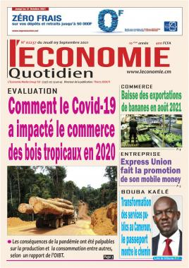 Le Quotidien de l'Economie - 09/09/2021
