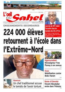 L'oeil du Sahel - 06/09/2021