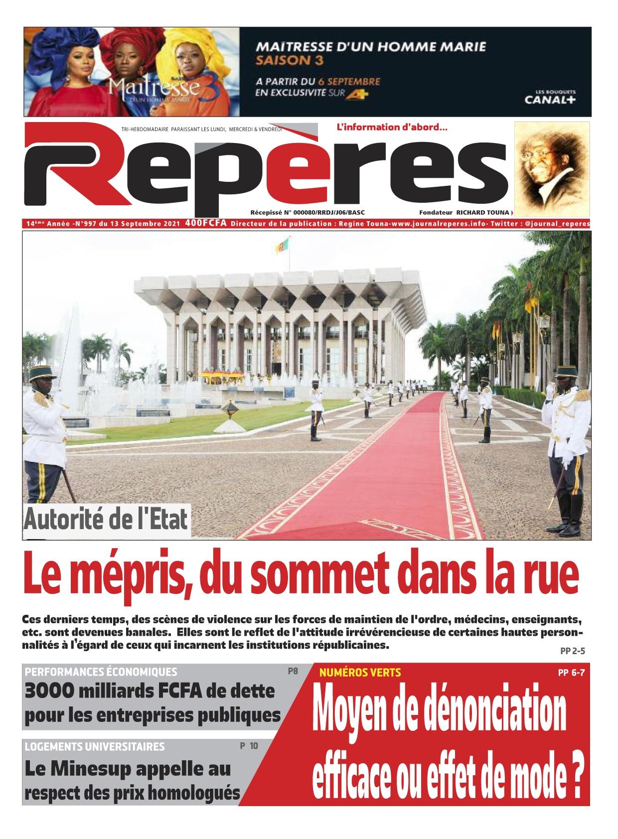 Repères - 13/09/2021