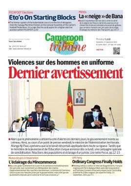 Cameroon Tribune - 13/09/2021
