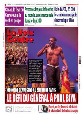 LA VOIX DU CENTRE - 20/09/2021