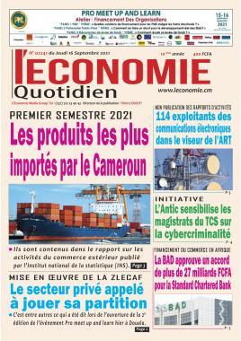 Le Quotidien de l'Economie - 16/09/2021