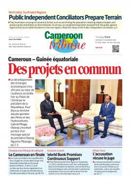 Cameroon Tribune - 14/09/2021
