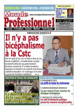 Monde Professionnel - 20/09/2021