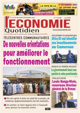 Le Quotidien de l'Economie - 28/10/2021