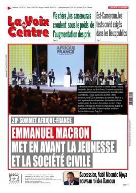 LA VOIX DU CENTRE - 11/10/2021