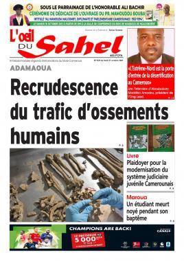 L'oeil du Sahel - 11/10/2021
