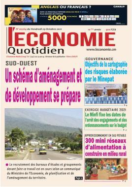 Le Quotidien de l'Economie - 29/10/2021