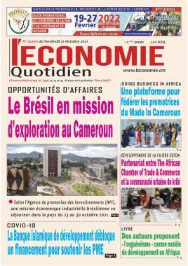 Le Quotidien de l'Economie - 22/10/2021