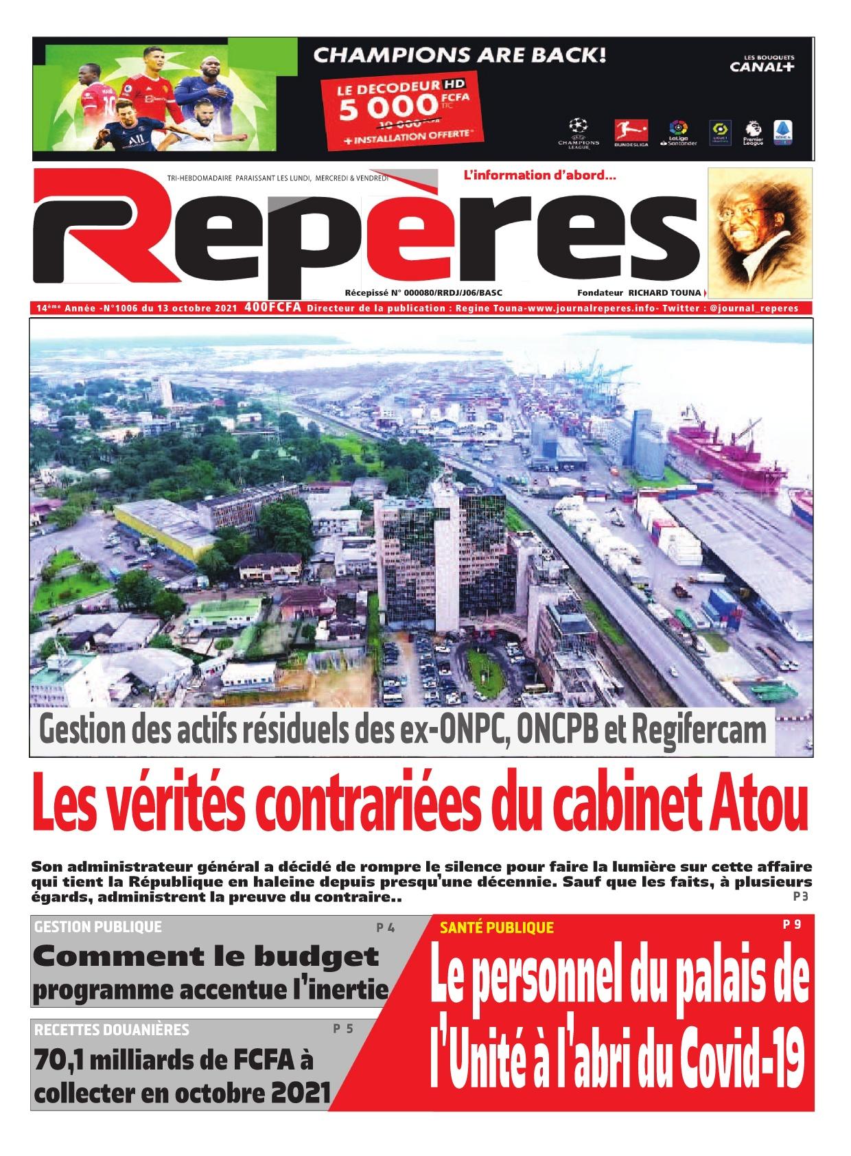 Repères - 13/10/2021
