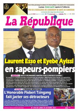 LA REPUBLIQUE PRESSE - 25/10/2021