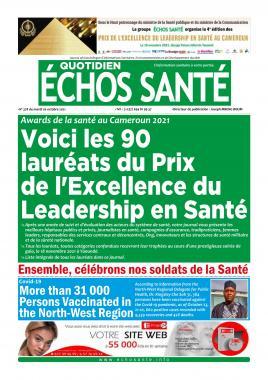 Echos Santé - 26/10/2021