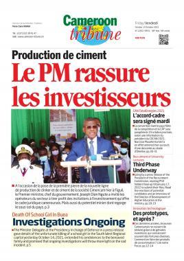 Cameroon Tribune - 15/10/2021