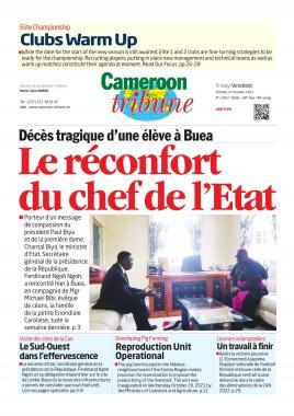 Cameroon Tribune - 22/10/2021