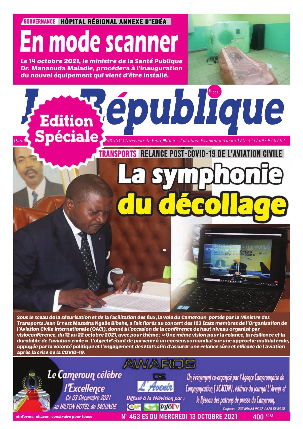 LA REPUBLIQUE PRESSE - 14/10/2021