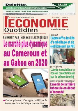 Le Quotidien de l'Economie - 26/10/2021