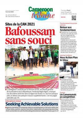 Cameroon Tribune - 19/10/2021