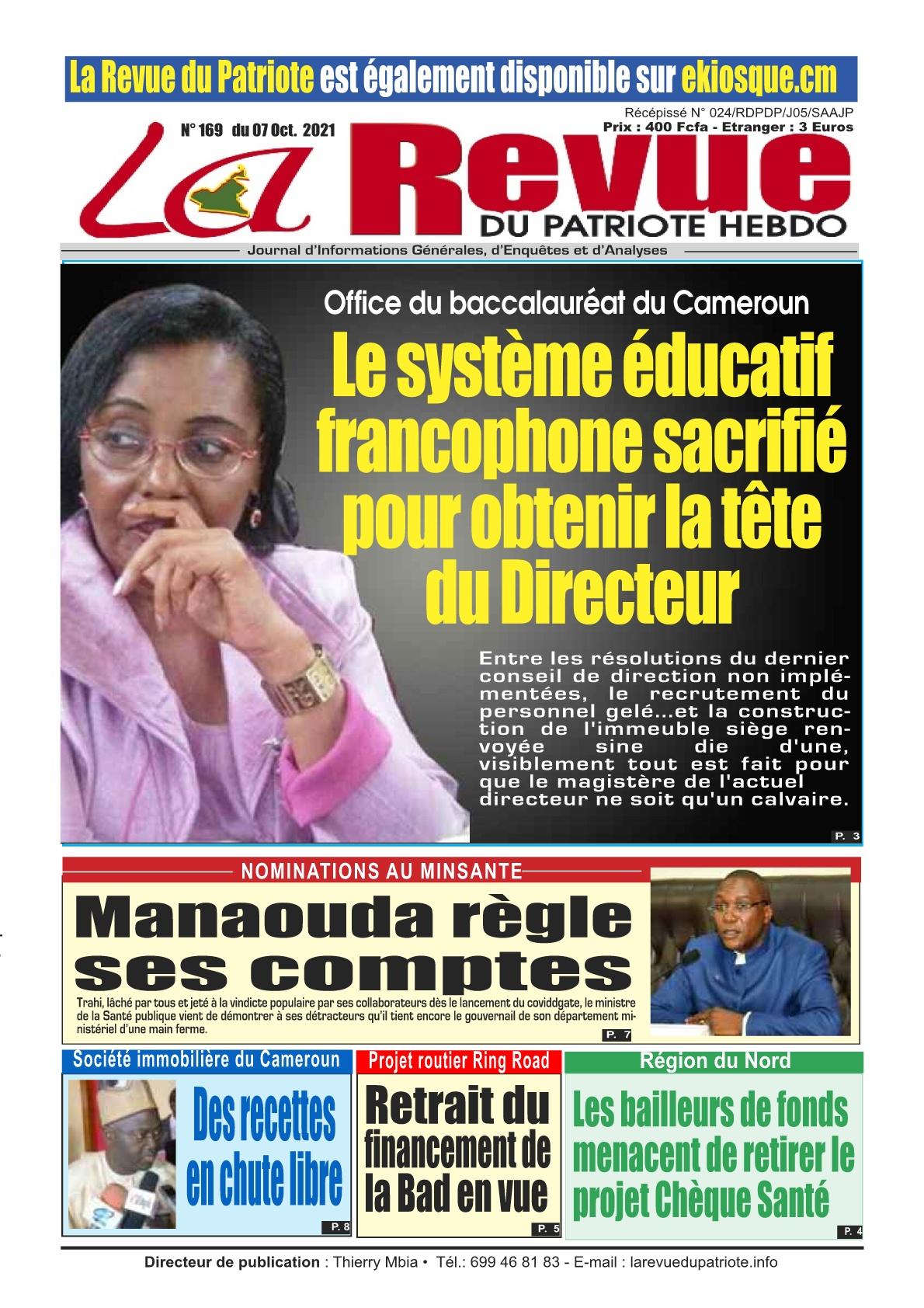 La Revue du Patriote - 07/10/2021