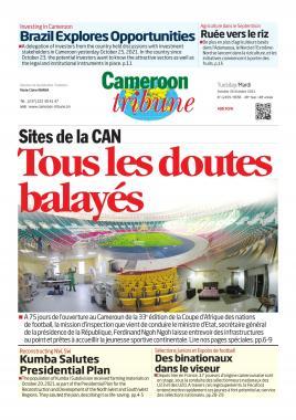 Cameroon Tribune - 26/10/2021