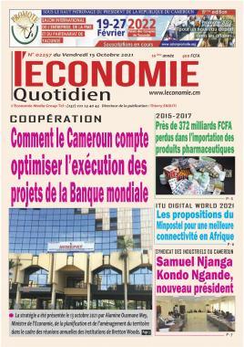 Le Quotidien de l'Economie - 15/10/2021
