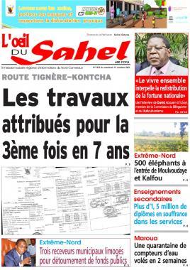 L'oeil du Sahel - 15/10/2021