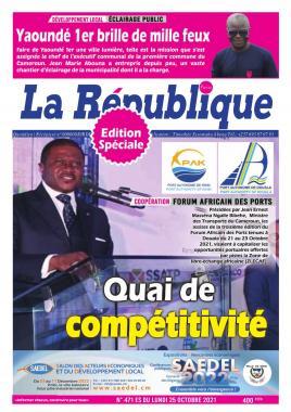 LA REPUBLIQUE PRESSE - 26/10/2021