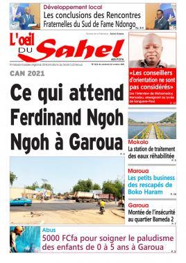 L'oeil du Sahel - 22/10/2021