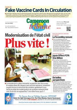Cameroon Tribune - 20/10/2021