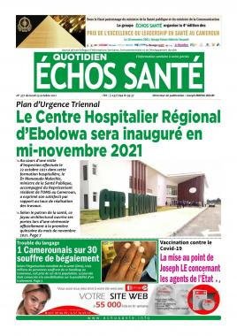 Echos Santé - 25/10/2021