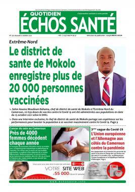 Echos Santé - 21/10/2021