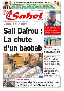 L'oeil du Sahel - 13/10/2021