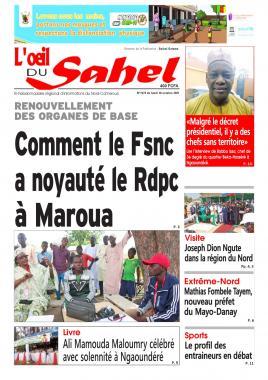L'oeil du Sahel - 18/10/2021